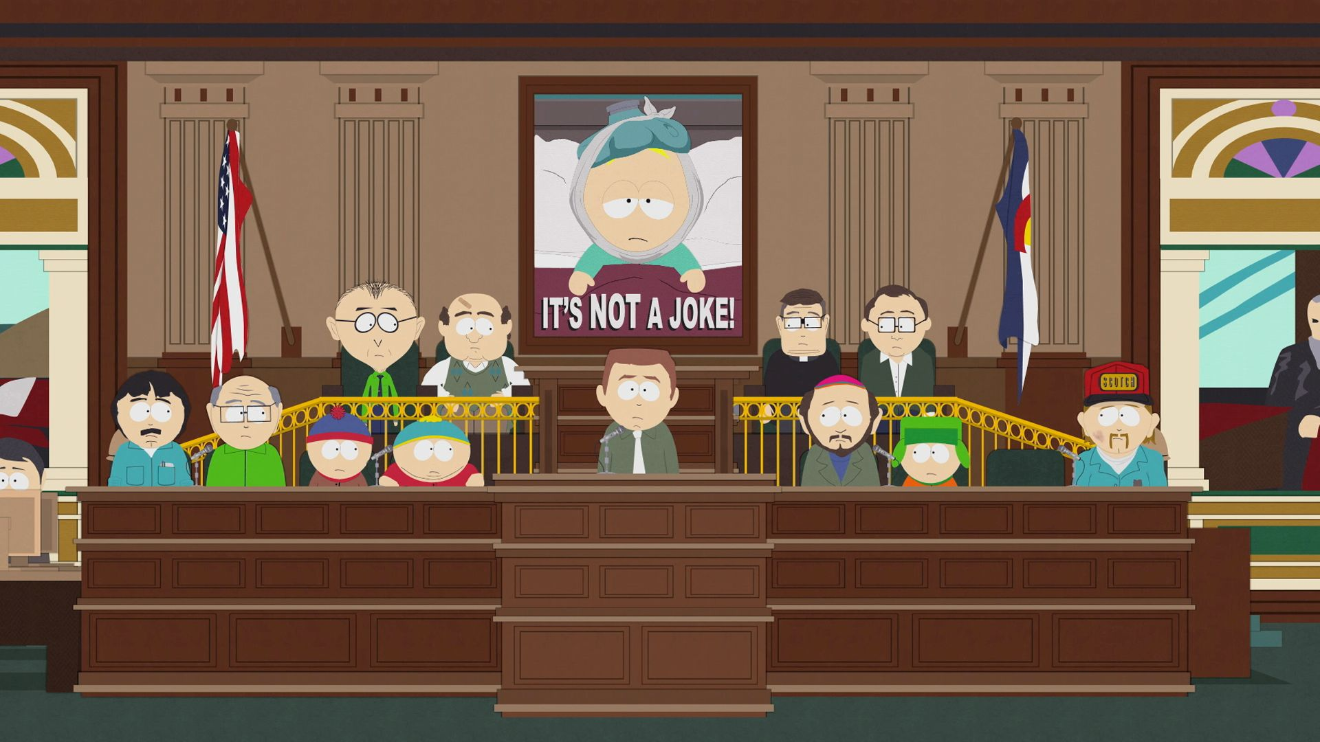 It\'s Not A Joke - Video Clip | South Park Studios